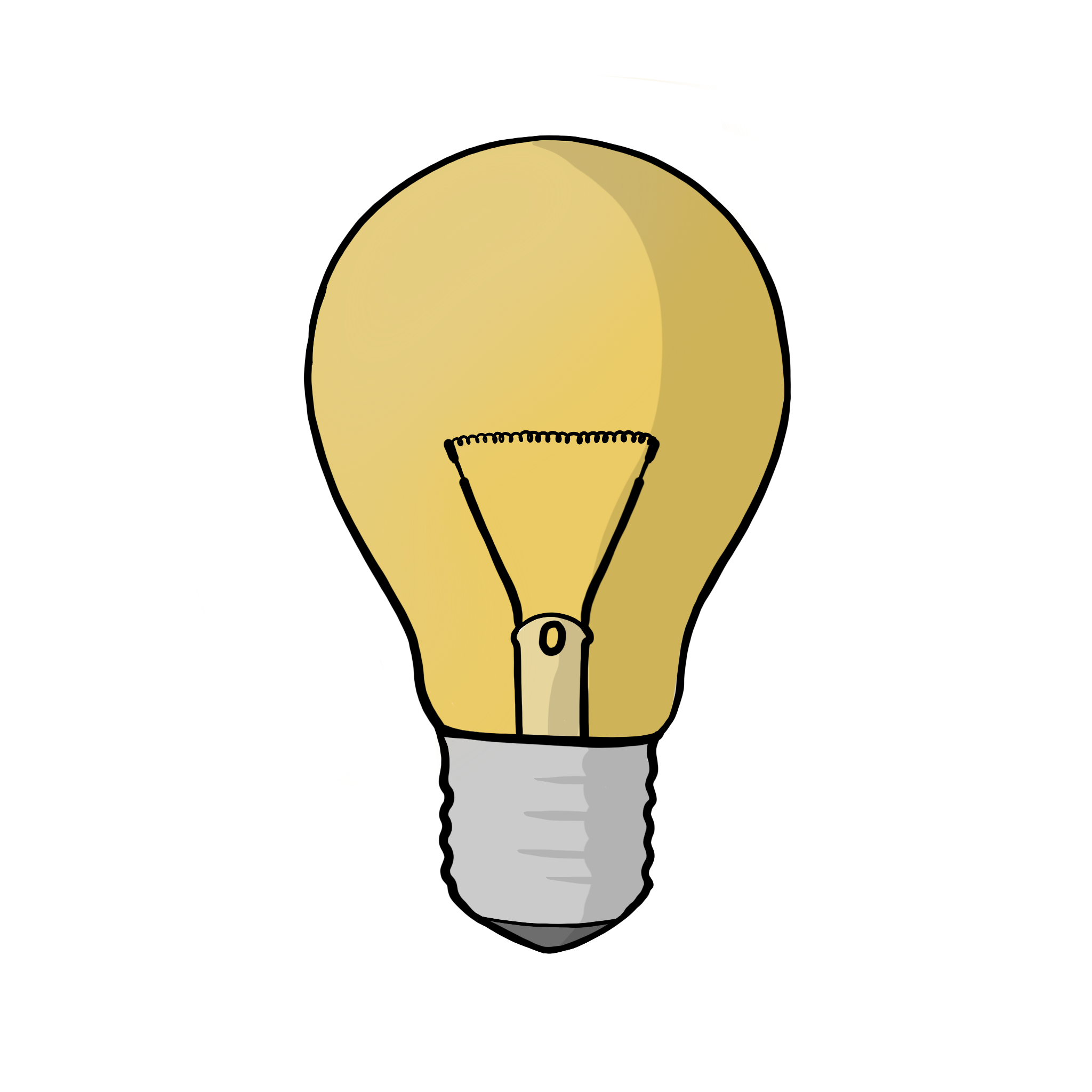Light bulb representing Knowledge